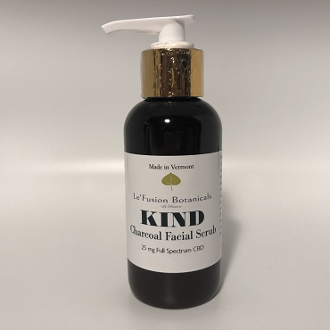 Kind CBD Charcoal Facial Scrub